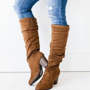 🍂JUST ARRIVED🍂 Autumn Love Vegan Suede Boots